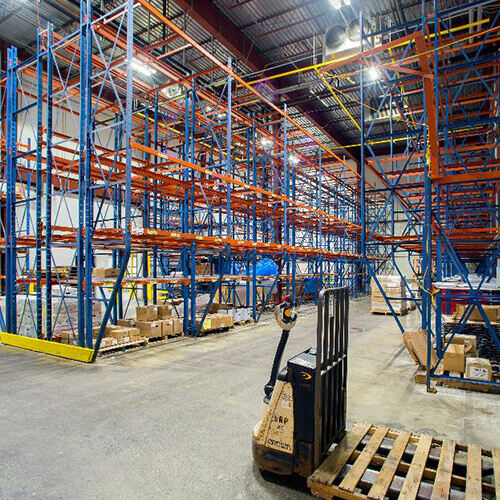 Warehouse before renovation into state-of-the-art slaughterhouse and meat processing facility for locally-raised Vermont meats