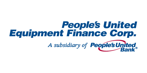 People's United Equipment Finance Corp. official logo. PUEFC is a subsidiary of People's United Bank.