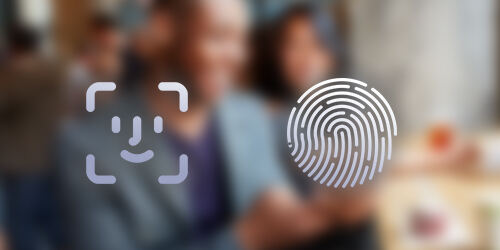 Face or touch ID is a faster more convenient way to securely log into the People's United Bank mobile banking app